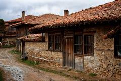 Architektoniczna rezerwowa Zheravna wioska, Bułgaria Zdjęcia Royalty Free