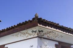 Architektoniczna scena fasadowy ornament Obraz Royalty Free
