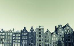Architektoniczne fasady pasmo style Obrazy Stock