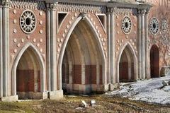 Architektoniczni elementy most dla ceremonialnych wizyt Obraz Stock