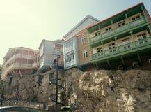 Architektoniczni rozwiązania w gruzinu stylu Zdjęcie Stock