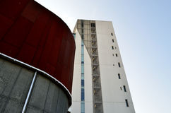 Architektoniczni szczegóły i okno Zdjęcia Stock