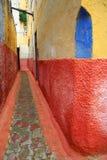 architektoniczni szczegóły marokańscy Zdjęcia Stock