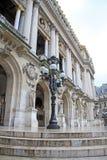 Architektoniczni szczegóły opera obywatel de Paryż - Uroczysta opera, Paryż, Francja zdjęcia royalty free