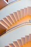 Architektoniczni szczegóły - schody usuwający Obrazy Stock