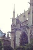 Architektoniczni szczegóły Katedralny Notre Damae de Obraz Royalty Free
