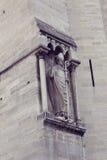 Architektoniczni szczegóły Katedralny Notre Damae de Fotografia Royalty Free