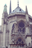 Architektoniczni szczegóły Katedralny Notre Damae de Zdjęcia Stock