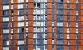 Architektoniczni szczegóły przy Salford Quays, Anglia zdjęcie royalty free