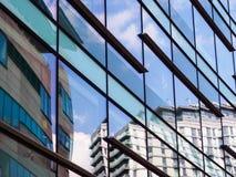 Architektoniczni szczegóły przy Salford Quays, Anglia obrazy royalty free