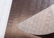 Architektoniczni szczegóły przy Salford Quays, Anglia obraz stock