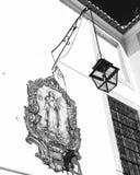 Architektoniczni szczegóły w Lisbon Fotografia Stock