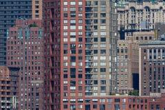 Architektoniczni szczegóły w lower manhattan Fotografia Royalty Free