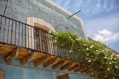 Architektoniczni szczegóły w Realu De Catorce Meksyk Obraz Stock