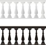 architektoniczny balustradowy element Zdjęcia Stock
