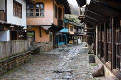 Architektoniczny etnograficzny powikłany Etara, Bułgaria zdjęcia royalty free