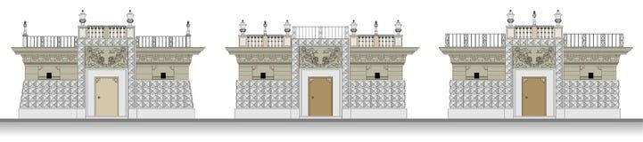 architektoniczny klasyczny przedmiot Zdjęcia Stock