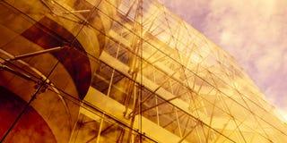 architektoniczny odbicie Obrazy Royalty Free