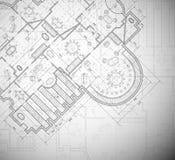 Architektoniczny plan royalty ilustracja