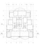 Architektoniczny Plan obraz royalty free