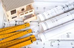 Architektoniczny projekt Zdjęcie Stock