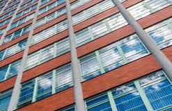 Architektoniczny projekt Żadny Administracyjny budynek 21 w Zlin, czech Reublic Fotografia Royalty Free