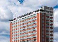 Architektoniczny projekt Żadny Administracyjny budynek 21 w Zlin, czech Reublic Fotografia Stock