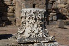 Architektoniczny rozkaz w Ephesus Antycznym mieście Zdjęcie Royalty Free