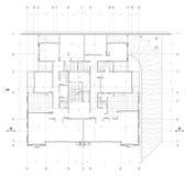 Architektoniczny Rysunek Zdjęcie Royalty Free