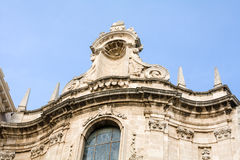 Architektoniczny szczegół kościół w Siracusa, Sicily, Włochy Obrazy Royalty Free