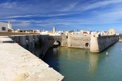 Architektoniczny szczegół Mazagan, El Jadida, Maroko zdjęcie stock