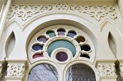 Architektoniczny szczegół na wiktoriański domu obrazy stock