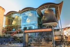 Architektoniczny szczegół sąd najwyższy bordowie zdjęcie royalty free