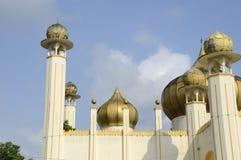 Architektoniczny szczegół sułtanu Mahmud meczet W Kuala Lipis, Pahang Obrazy Stock