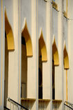 Architektoniczny szczegół sułtanu Mahmud meczet W Kuala Lipis, Pahang Obrazy Royalty Free