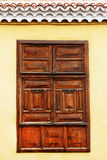 Architektoniczny szczegół w San Sebastian de losie angeles Gomera Fotografia Royalty Free