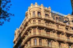 Architektoniczny szczegół typowy budynek mieszkalny Obraz Royalty Free