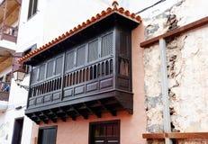 Architektoniczny szczegół w San Sebastian de losie angeles Gomera Obraz Royalty Free