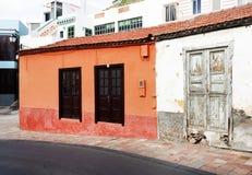 Architektoniczny szczegół w San Sebastian de losie angeles Gomera Obraz Stock
