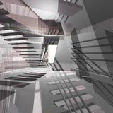 Architektoniczny tło ilustracja wektor