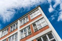 Architektonische Gestaltung von Verwaltungsgebäuden in Zlin, Tschechische Republik Lizenzfreies Stockbild