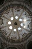 Architektonische künstlerische Dekorationen auf Hofburg-Palast, Wien Lizenzfreies Stockfoto