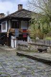 Architektonisches ethnographisches komplexes Etara, Bulgarien stockfoto