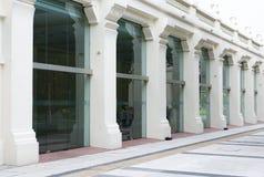 Architekturäußeres des thailändischen Artgebäudes Lizenzfreie Stockbilder