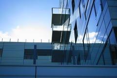 Architektur ørestaden innen, Dänemark Stockfotos