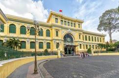 Architektur außerhalb der Saigon-Zentralpost Stockfotografie
