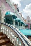 Architektur auf Aruba stockbild