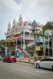 Architektur auf Aruba stockbilder