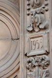 Architektur auf den Gebäuden der UDSSR Lizenzfreie Stockfotografie