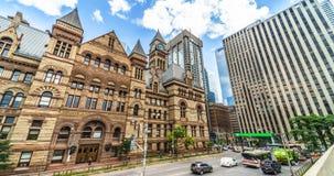 Architektur-Autoverkehr timelapse der Stadt historisches stock footage
